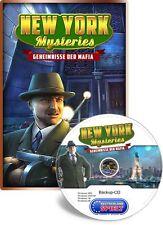 New York Mysteries - Geheimnisse der Mafia - PC - Windows XP / VISTA / 7 / 8