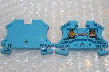 1 Stück WEIDMÜLLER Durchgangsreihenklemme WDU 4 BL  -1020180000   NEU