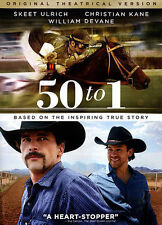 NEW/SEALED - 50 to 1 (DVD, 2015) Based on True Events