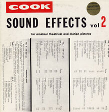 Vol. 2-Sound Effects - Sound Effects (2009, CD NEUF) CD-R