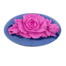 Soap Mold 3D Rose Flower Flexible Silicone Mould For Resin Candy Candle Craft