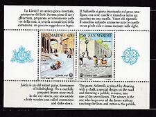 San Marino 1989 postfrisch MiNr. Block 12 Europa Kinderspiele