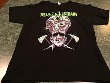 THE ACACIA STRAIN Metal Music Eyes Scary Graphic T-Shirt Adult Size Large *RARE*