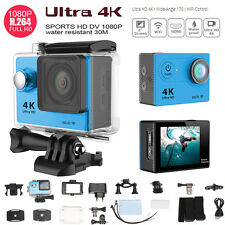 H9SE Ultra HD 4K WiFi 1080P/60fps Sport Action Video Waterproof Camera Camcorder