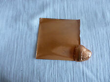 50 Square Foil Wrappers in  Copper  for Chocolates & Sweets. 80mm x 80mm.