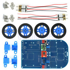 N20 Gear Motor Toy 4WD Bluetooth Controlled Smart Robot Car Kits for Arduino DE