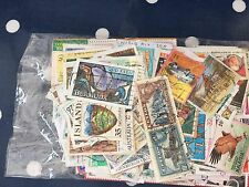 world mix 300 different stamps on paper, nice retail packet good assortment