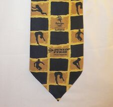 2000 Olympic Games Sydney Original Olympic Tie Sponsors DUNLOP TYRES with Logos