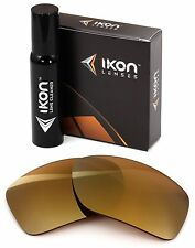 Polarized IKON Replacement Lenses Von Zipper Gatti Sunglasses Gold Mirror
