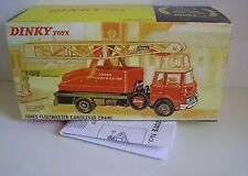 Dinky 970 Jones F.C. Crane Empty Repro Box & Instrucns