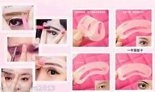Eyebrow Drawing Guide Shape Card Kit Make-Up Tool