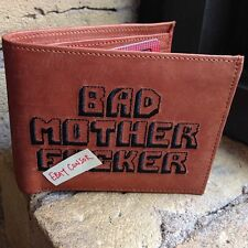 The Original BMF® BROWN BAD MOTHER F*CKER WALLET Embroidery 100% Genuine LEATHER