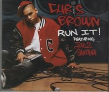 CHRIS BROWN feat JUELZ SANTANA Run it! 4  TRACK CD NEW - NOT SEALED