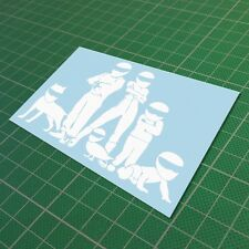 Stig Family Sticker Decal Vinyl Car JDM Window Drift Funny Low Turbo 150 mm 6''