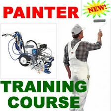 NEW PAINTER PAINTING TRAINING COURSE PAINT MANUAL CD
