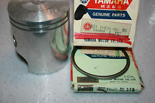 Yamaha  snowmobile nos piston and rings Sw396 1970 standard  vintage GP396 1971