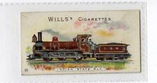 (Ja1585-100) Wills,Locomotives & Rolling Stock,Indian State Rly,1901#23