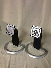 """Dell UltraSharp 1905FP 1901FP 19"""" LCD Monitor Base stand ** ( LOT of 2 ) **"""