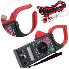 New Digital Voltmeter Ammeter Ohmmeter Multimeter Volt AC DC Tester Clamp Meter