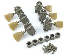Gotoh Factory Aged Nickel/Relic Keystone Tuners for Vintage Gibson® TK-0770-007