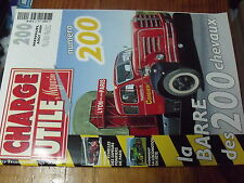 µ? revue Charge Uile n°200 Grue mobile Surplus domaines Cirques IH Farmall 200