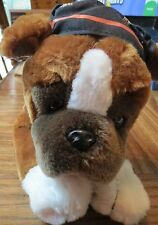 "Official HARLEY DAVIDSON Dog Stuffed Animal Plush 14"" Long (2003)"