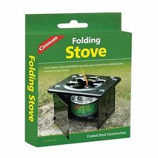 Coghlans 9957 Folding Stove Camping Cooking + Free P38 Military Scout Can Opener