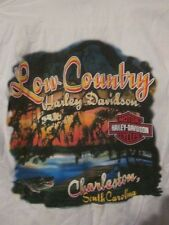 LOWCOUNTRY HARLEY-DAVIDSON MOTORCYCLES Adult S Short Sleeve Logo Pocket Tee