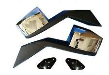 Volvo Truck Hood Chrome Mirror Set Vn Vnl + Mounting Plates  82361058 82361059