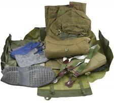 Czech Army Chemical Warfare Hazmat Suit: Jacket, Pants, Boots & Gloves in Bag