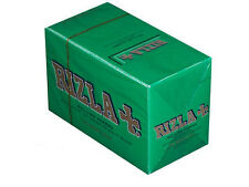 RIZLA RIZZLA GREEN STANDARD CIGARETTE 100 BOOKLETS SMOKING PAPERS ROLLING