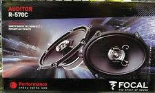 """FOCAL AUDITOR R-570C 5""""X7"""" COAXIAL SPEAKERS CAR AUDIO RMS"""