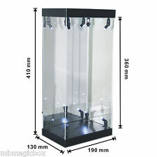 "Acrylic Display Case LED Light Box for 12"" 1/6th Scale Hot Toys Star Wars Figure"