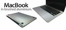 "Brushed Metal Skin Kit For MacBook Pro 13"" 15""  Stylish Protection Sticker"