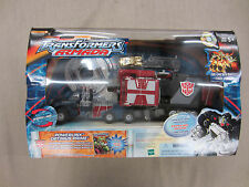 Transformers Armada Super Robot,Powerlinx Optimus Prime+mini-con+Comic Book+CD