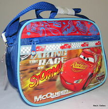 Disney Cars Car  Back Pack  School Bag Backpack small Lunch box 9 x 6  NWT
