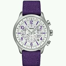 Versus by Versace Soho Purple Men's Women's  Watch + New battery