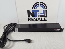 CYBERPOWER CPS-1215RM 10 Outlet 15A RM Basic PDU Series 1U Rackmount Power Strip