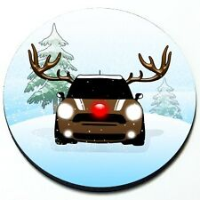 Reindeer MINI - MINI Cooper Magnetic Grill Grille Badge
