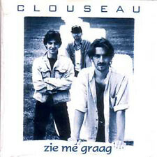 CD Single CLOUSEAU Zie me graag CARD SLEEVE 2 tracks Eurovision star ! rare