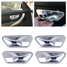 Interior Door Handle Bowl Chrome Plated Cover Trim fits BMW 3 4 Series F30 F32