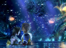 Final Fantasy X 10 Tidus & Yuna mouse pad 1 free ship
