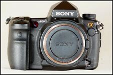 Sony Alpha A850 24.3 DSLR Full Frame Camera Body (No Lens) -Near Mint-Low Clicks
