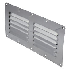 2 x Air Vents for Caravans and Boats 304 Grade Stainless Steel  Louvre  Air vent