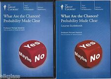 What Are The Chances? Probability Made Clear Math 2 DVD +Book The Great Courses