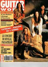 "GUITAR WORLD #30 ""Extreme,Satriani,Nono Krief,A.Summers,H.Burns"" (REVUE)"