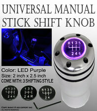 PFI Gear Stick w/ Purple LED Shift Knob Manual Transmission Shifter LeveL#6