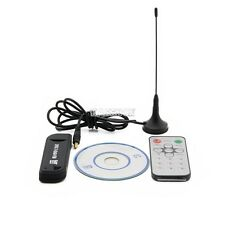 USB DVB-T RTL2832U+R820T Digital Freeview TV Receiver Tuner Dongle Recorder PC