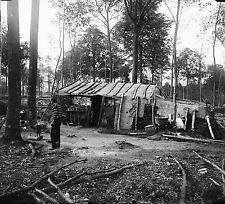 Négatif Verre - Hutte de Bûcheron Bois de Vaucresson - as0