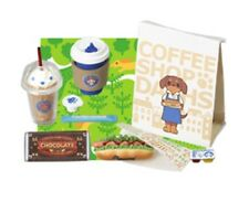 Megahouse Dogs Coffee Shop #4 -, 1:6 Barbie kitchen food miniatures Re-Ment size